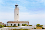 La Mola lighthouse in Formentera in Balearic poster