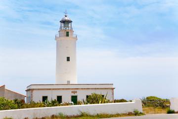 La Mola lighthouse in Formentera in Balearic