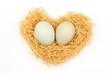 幸せのハートの巣
