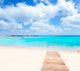 Els Pujols Formentera white sand turquoise beach