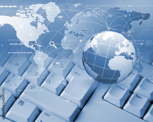Global technology image
