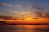 Fototapeta messina - Wyspy - Zachód / Wschód Słońca