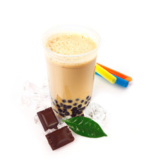 Chocolate Boba Bubble Tea