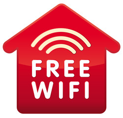 Haus-Icon Free WIFI