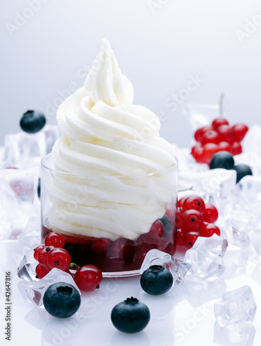 Fruity Frozen Yogurt