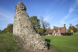 berkhamsted castle ruins hertfordshire england poster