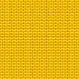 Yellow brick wall. Seamless background