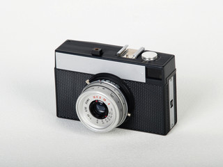 Lomo camera isolated on white background