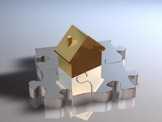 Haus Puzzle GS ill
