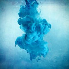 Blaue Farbe Wolke