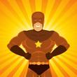 Comic Power Superhero