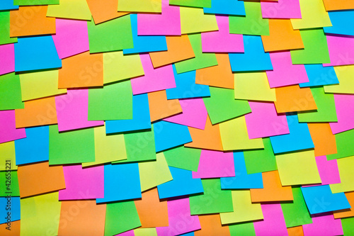 empty post it notes