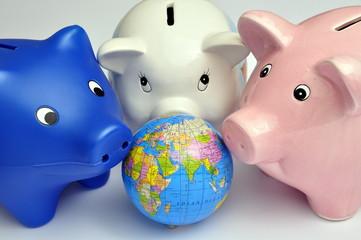 Die Welt muss Sparen