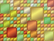 vector abstract background of colored squares