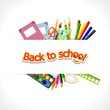 back to school - background