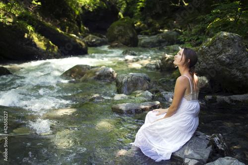 Serene nature