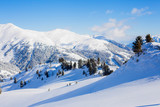 Fototapety Skiing resort in Austria