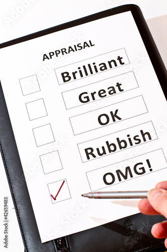 A fun appraisal form