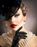Fototapeta portret - moda - Kobieta