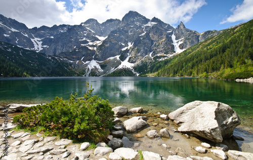 Morskie Oko lake in Tatra mountains, Poland © great_photos