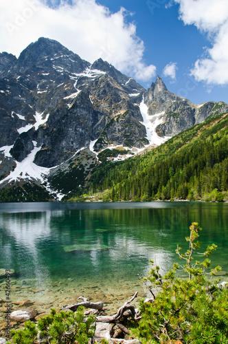 Polish Tatra mountains Morskie Oko lake - 42660493