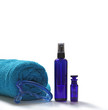 Towel, massage oil, wand and cleansing spray