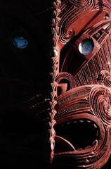 Maori Carving on a Marae