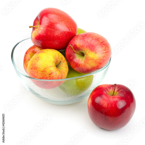 apples in a glass