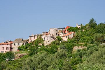Ligo eine kleine Stadt in Ligurien Italien