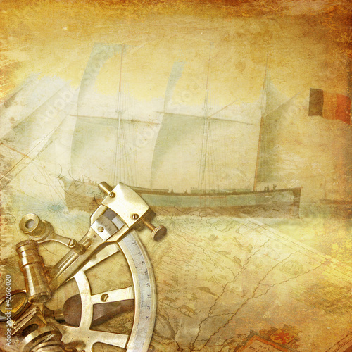 vintage nautical background