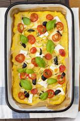 vegeterian tart
