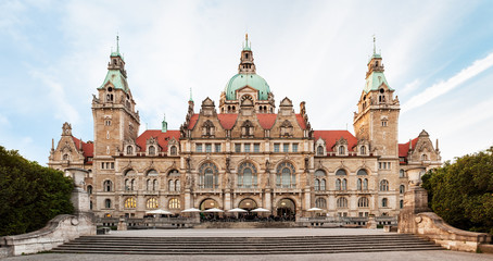 Neues Rathaus (New Town hall) in Hannover