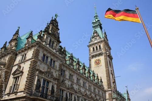 City Hall in Hamburg