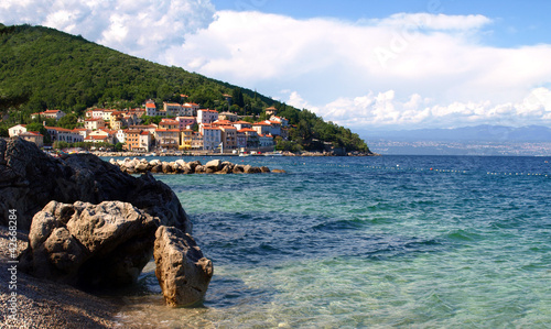Seascape in Croatia, near by city of Rijeka