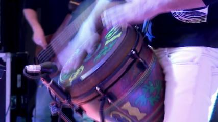 Drum show.