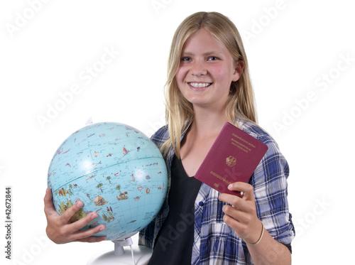 Teenager auf Reisen