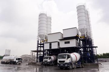 Concrete Mixing Factory