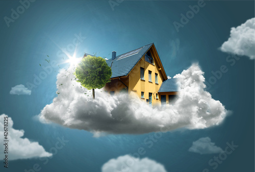 canvas print picture Dream House