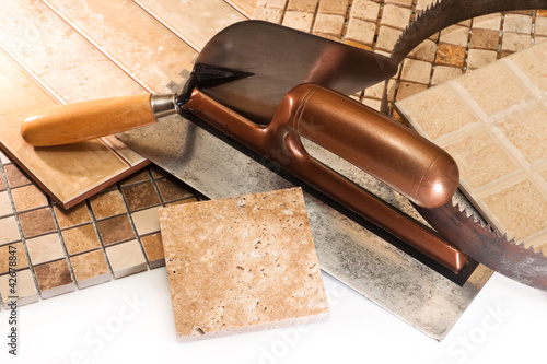 Ceramic tiles for repair of apartments