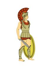 Roman soldier.