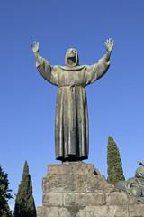 Monumento a San Francesco d'Assisi Patrono d'Italia - Roma