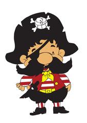 Little pirate boy color