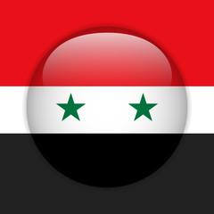 Syria Flag Glossy Button