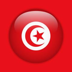 Turkey Flag Glossy Button