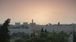 Jerusalem King David's Tower sunrise