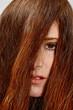 capelli rossi spettinati pettinare
