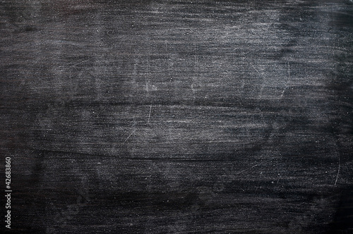 Blank smudged blackboard background for text writing and design