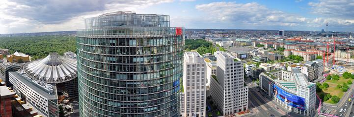 Berlin, Potsdamer Platz von oben