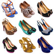 Multicolored female shoes-10