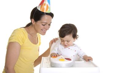 Baby birthday celebrations